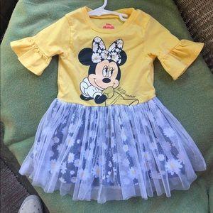Disney Junior tulle Minnie Mouse dress